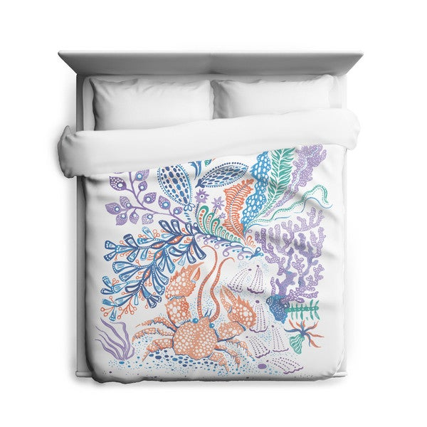 Sharp Shirter Crabs/ Nautical Duvet Cover
