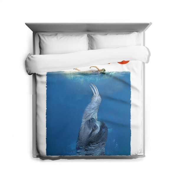 Sharp Shirter Claws Duvet Cover