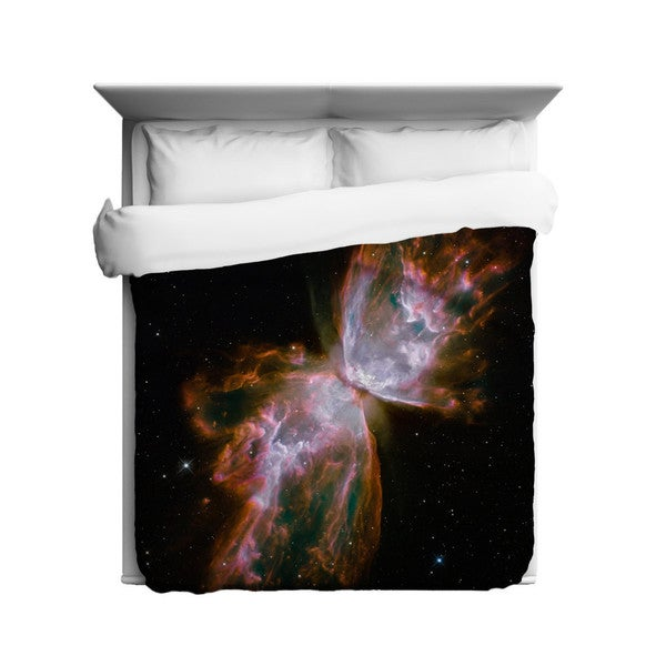 Sharp Shirter Butterfly Nebula/ Outer Space Duvet Cover