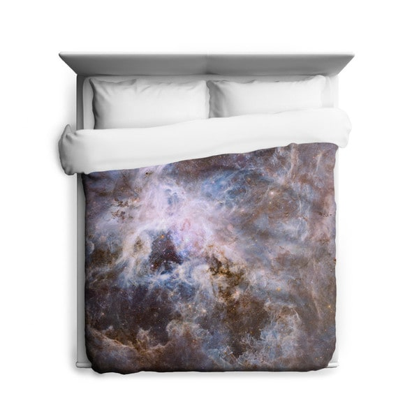 Sharp Shirter Optical View of Tarantula Duvet Cover