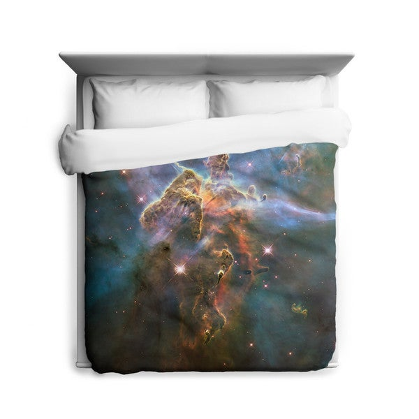 Sharp Shirter Mystic Mountain Duvet Cover