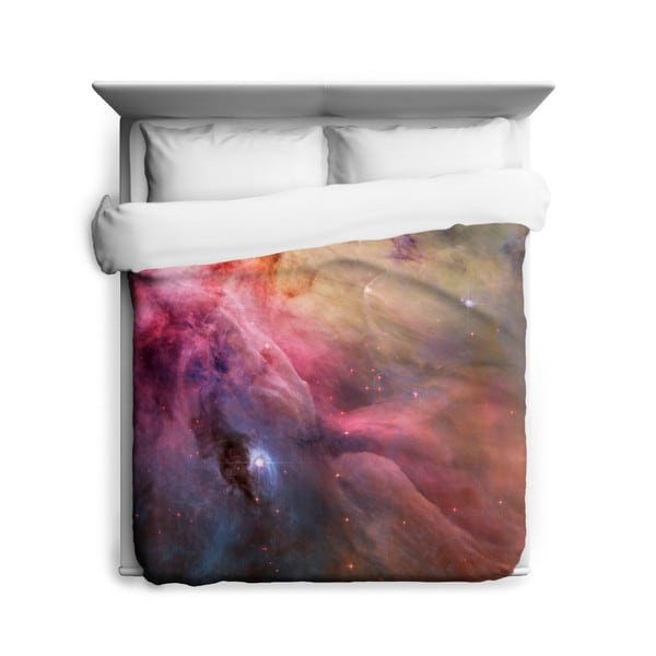 Sharp Shirter Abstract Art Orion Nebula Duvet Cover