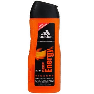 Adidas Deep Energy Ginseng 2-in-1 Men's 13.5-ounce Hair and Body Wash