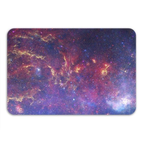 Sharp Shirter Milky Way Memory Foam Bath Mat - Blue 19146193