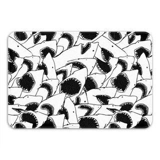 Sharp Shirter Forever Jaws Memory Foam Bath Mat
