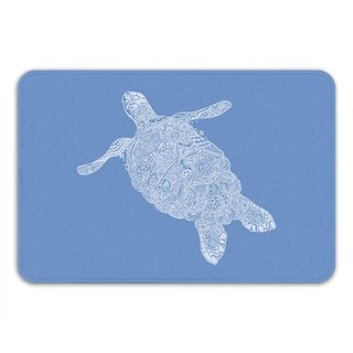 Sharp Shirter Elegant Turtle Memory Foam Bath Mat