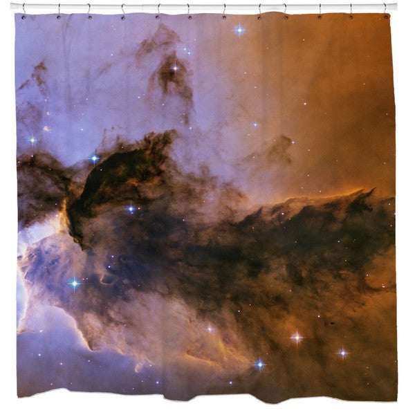 Sharp Shirter The Fairy of Eagle Nebula Shower Curtain