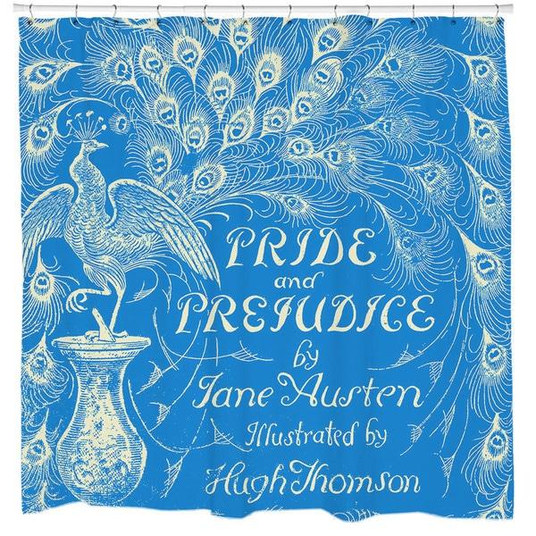 Sharp Shirter Pride and Prejudice Shower Curtain 19146403