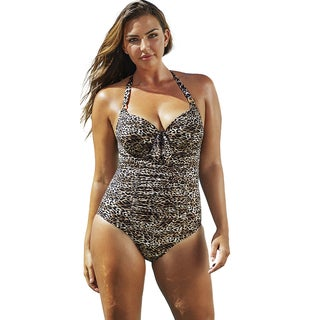 Swim Sexy The Paramour Cheetah Underwire Swimsuit