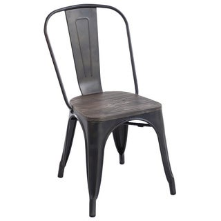 Edgemod Trattoria Bronze Metal Accent Chair (Set of 2)