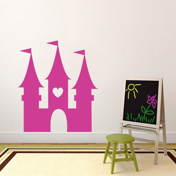 Princess Castle' 43 x 48-inch Vinyl Wall Decal 19151026