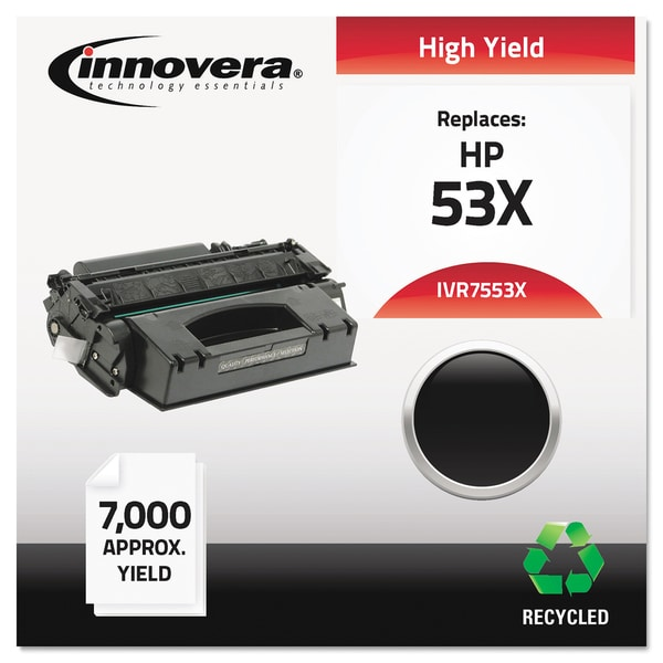 Innovera Remanufactured Q7553X (53X) Black Laser Toner