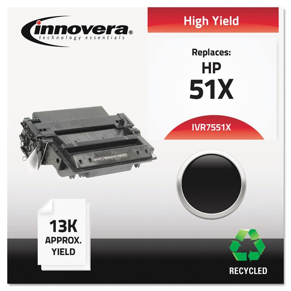 Innovera Remanufactured Q7551X (51X) Black Laser Toner