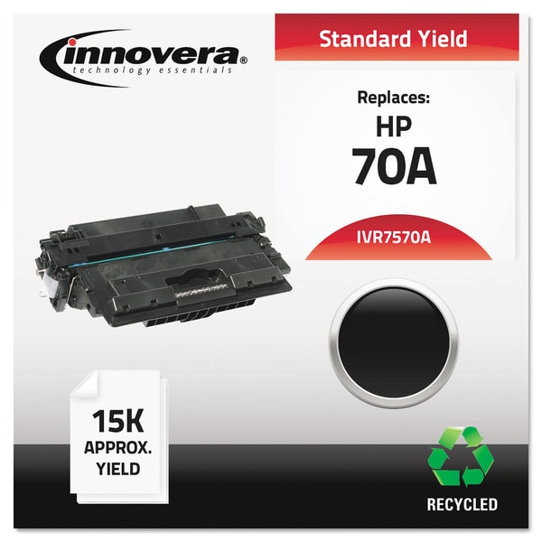 Innovera Remanufactured Q7570A (70A) Black Laser Toner