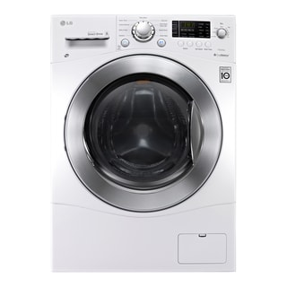 LG WM3477HW White 2.3-cubic-foot Large Capacity 24-inch Compact All-in-one Washer and Dryer Combo