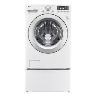 LG WM3170CW White Stainless Steel 4.3-cubic-foot Ultra-large Capacity Washer with NFC Tag On Technology