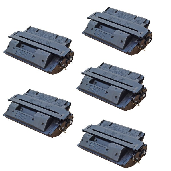 5PK Compatible C4127X (27X) Black Toner Cartridge For HP LaserJet 4000, 4000N (Pack of 5)