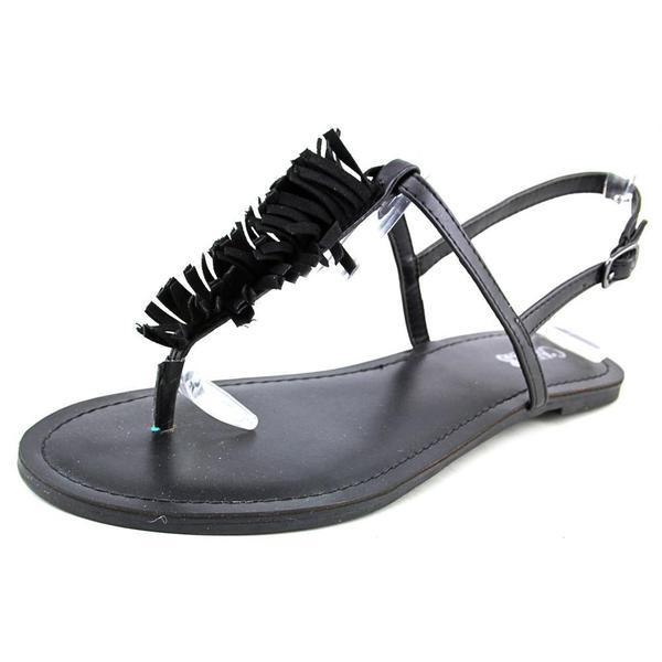 Carlos Santana Women's Finley Black Synthetic Sandals