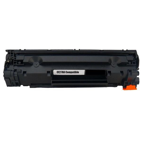 1PK Compatible CE278A Black Toner Cartridge For HP LaserJet P1566 P1606 P1606dn (Pack of 1)