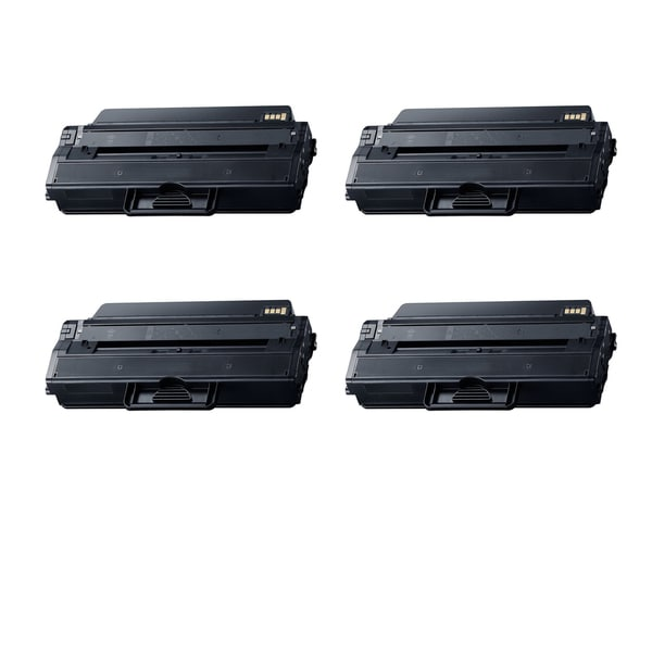 4PK Compatible MLT-D115L Toner Cartridge For Samsung All-in-One Machines SL-M2820DW SL-M2870FW ( Pack of 4 )