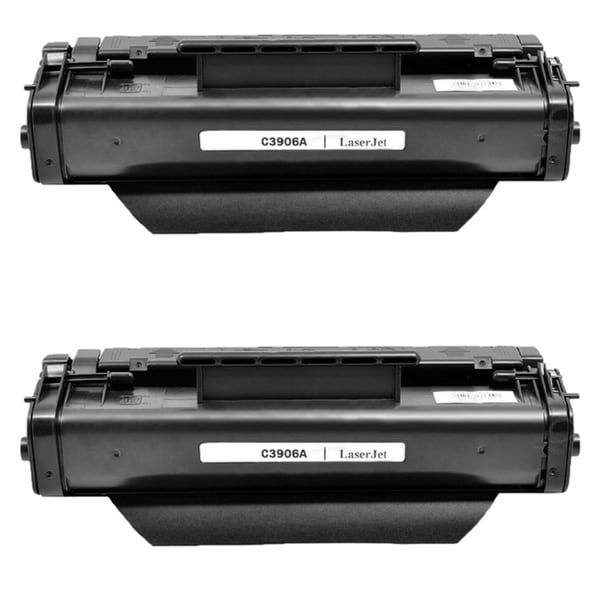 2PK Compatible C3906A (06A) Black Toner Cartridge For HP LaserJet 5L 5L XTRA ( Pack of 2 )