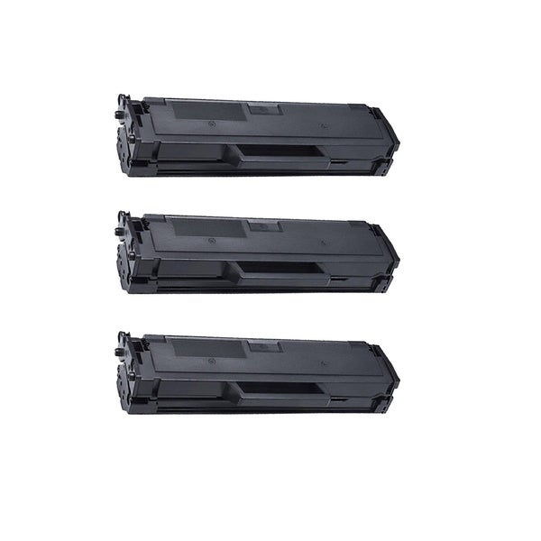 3PK Compatible Dell 1160 Toner Cartridge For Dell 1160 Premium Quality Re-Manufactured Toner Cartridge ( Pack of 3 )