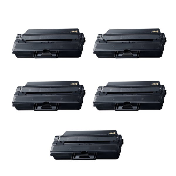 5PK Compatible MLT-D115L Toner Cartridge For Samsung All-in-One Machines SL-M2820DW SL-M2870FW ( Pack of 5 )