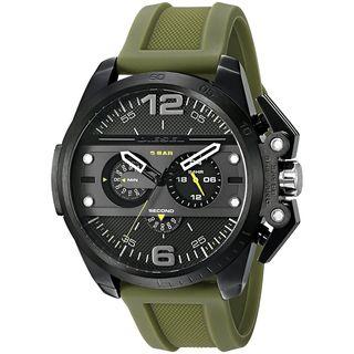 Diesel Men's DZ4391 'Ironside' Chronograph Green Silicone Watch