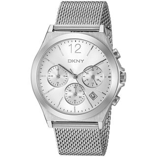 DKNY Women's NY2484 'Parsons' Chronograph Stainless Steel Watch