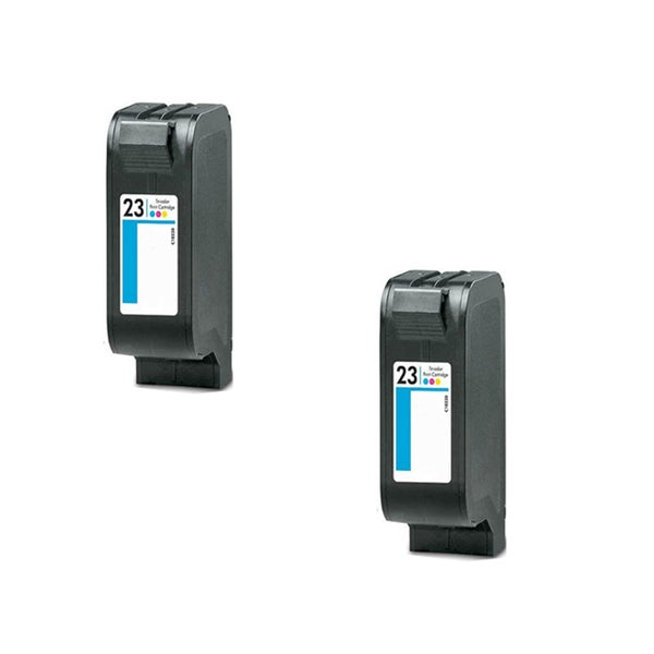 2PK Compatible HP C1823 (HP 23) Ink Cartridge For HP Color Copier 140 Color Copier 145 ( Pack of 2 )
