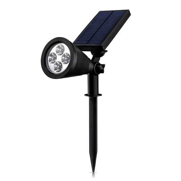 Mpow Soleil P2 Super-bright Waterproof Solar-powered Auto-On/ Off Light Sensor 4 LED Bulb Outdoor Spotlight