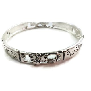 Mama Designs inspirational bracelet silver gift