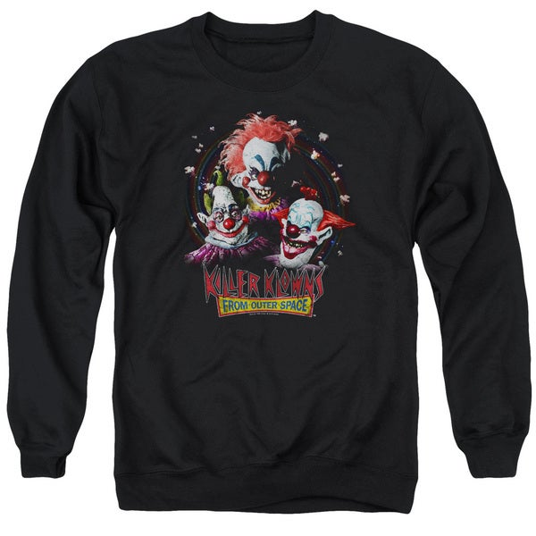 Killer Klowns From Outer Space/Killer Klowns Adult Crew Sweat in Black