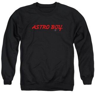 Astro Boy/Classic Logo Adult Crew Sweat in Black