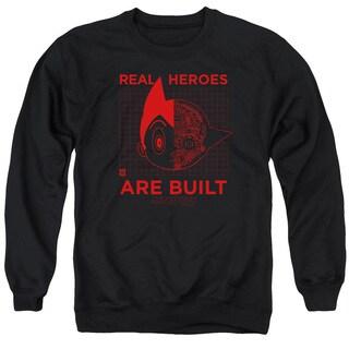 Astro Boy/Real Hero Adult Crew Sweat in Black
