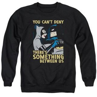Batman The Animated Series/Between Us Adult Crew Sweat in Black