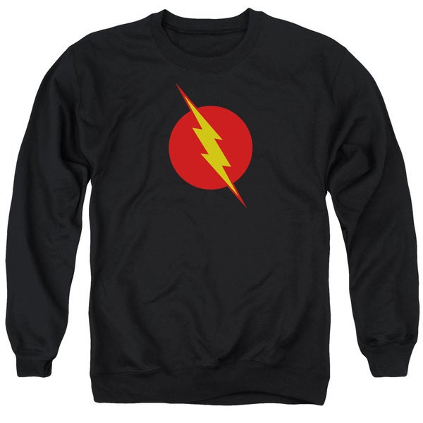 JLA/Reverse Flash Adult Crew Sweat in Black