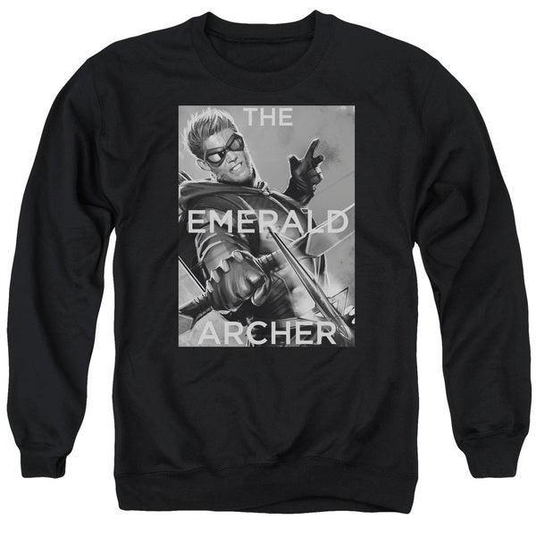 JLA/Trigger Adult Crew Sweat in Black