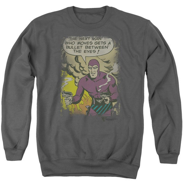 Phantom/Blunt Adult Crew Sweat in Charcoal