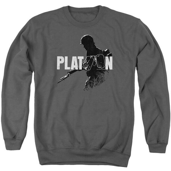 Platoon/Shadow Of War Adult Crew Sweat in Charcoal