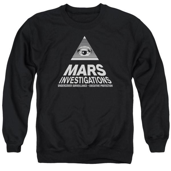 Veronica Mars/Marts Investigations Adult Crew Sweat in Black