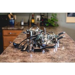 Cuisinart HW86-13GR Stainless Steel Aluminum Cookware Set (Case of 13)