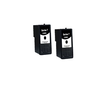 2 Pack Compatible Dell CH883 Ink Cartridge For Dell Inkjet A966 A968 A968W ( Pack of 2 )