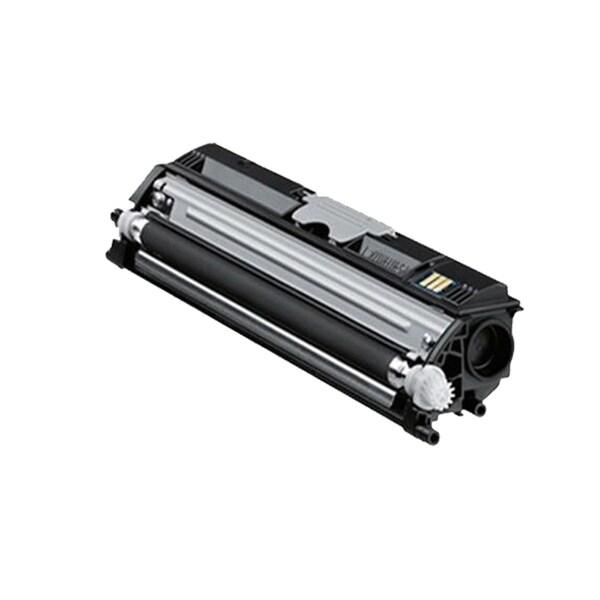 1 Pack Compatible QMS 1600 BK Toner Cartridge For Konica Minolta QMS Magicolor 1600 1650 ( Pack of 1 )