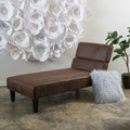 Christopher Knight Home Astrid Microfiber Chaise Lounge