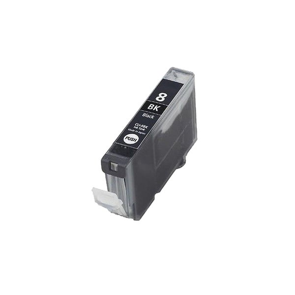 1PK Compatible CLI-8Bk Ink Cartridge For Canon PIXMA IP4200 5200 6600D 6700D MP500 MP800 ( Pack of 1 )