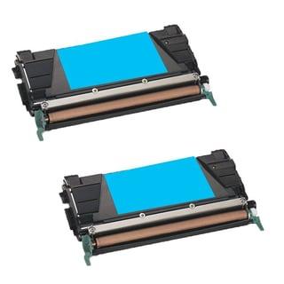 2PK Compatible C746A1CG Toner Cartridge For Lexmark C746DN C746DTN C746N C748DE C748DTE ( Pack of 2 )