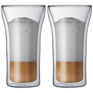 Bodum Assam Clear Double-wall Glasses (Set of 2)