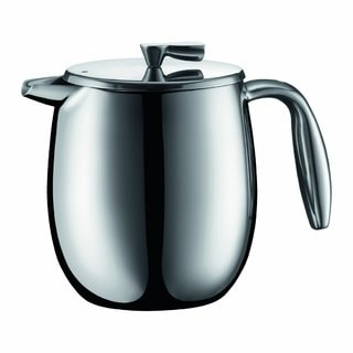 Bodum Columbia Stainless Steel 17-ounce Thermal Vacuum Coffee Press Pot