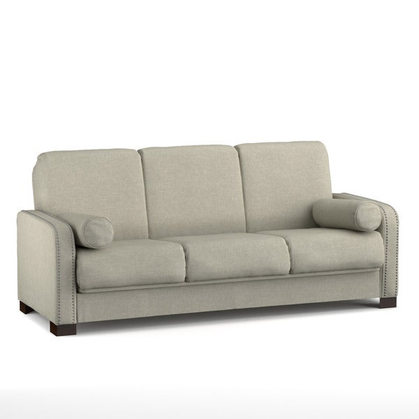 Better Living Convert-a-Couch Sofa Sleeper in Barley Tan Linen